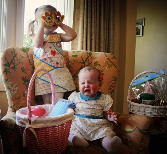 And Then They - Easter Chair and Baskets